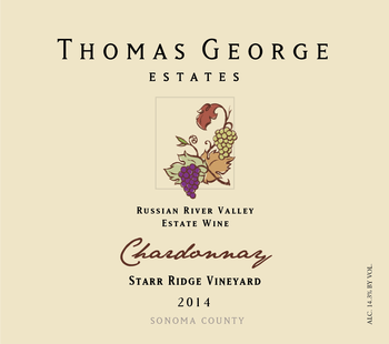 2014 Chardonnay Starr Ridge Estate Single Vineyard Image