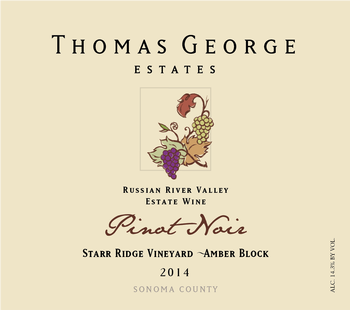 2014 Pinot Noir Starr Ridge Estate Single Vineyard Amber Block