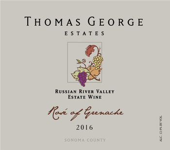 2016 Rosé of Grenache Estate RRV