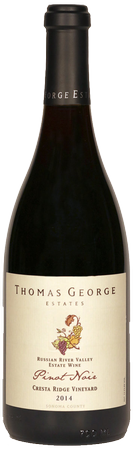 2011 Pinot Noir Cresta Ridge Estate Single Vineyard