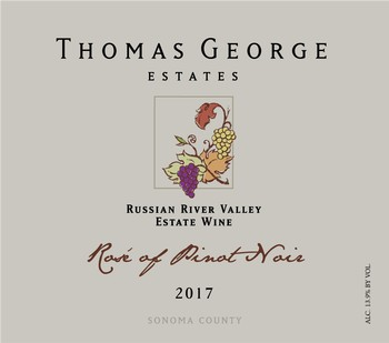 2017 Rosé of Pinot Noir Estate RRV