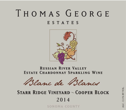 2014 Blanc De Blancs Starr Ridge Estate Single Vineyard Cooper Block