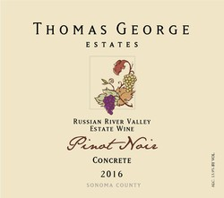 2016 Pinot Noir Cresta Ridge Concrete Estate Single Vineyard